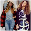 2 stylinga Beyonce Knowles