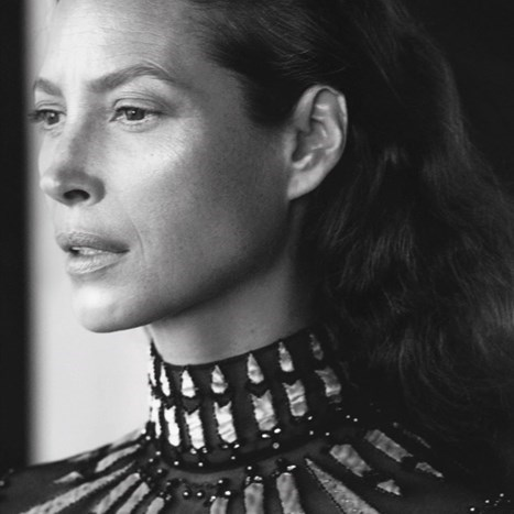 Christy Turlington u Valentino kampanji
