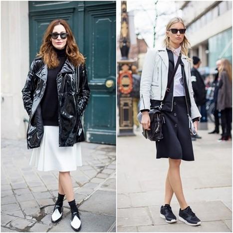 Crno Bijela Kombinacija Prkosi Bojama Proljeća - Fashion.Hr Style Community