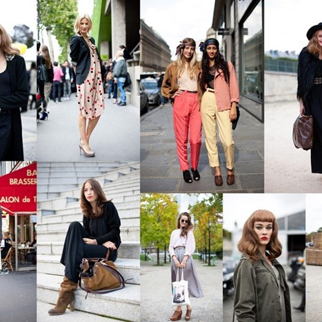 Divan streetstyle Paris Fashion Weeka