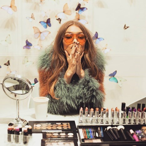 Nova make up kolekcija Gigi Hadid za Maybelline