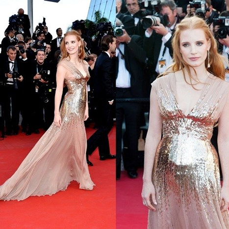 Jessica Chastain osvaja Cannes
