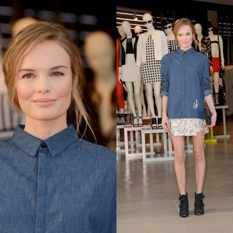 Kate Bosworth voli Topshop
