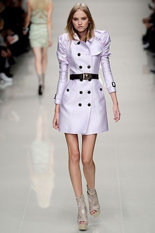 LONDON FASHION WEEK: Burberry Prorsum s/s 2010.