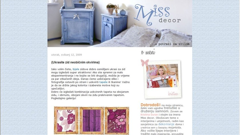 Miss decor blog