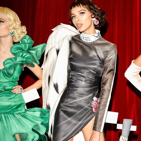 Moschino: lutkice od papira i eighties glamur