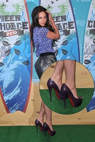 Najbolje cipele: Teen Choice Awards 2010.