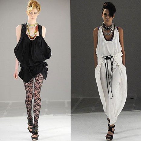 NY FASHION WEEK: L.A.M.B. S/S 2010.