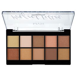 NYX Professional Makeup Paleta sjenila - Perfect Filter Shadow Palette Golden Hour