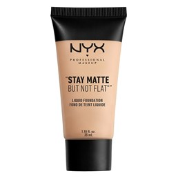 NYX Professional Makeup Stay Matte But Not Flat Liquid Foundation Light Beige