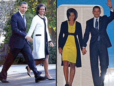 Oscar de la Renta VS. Michelle Obama