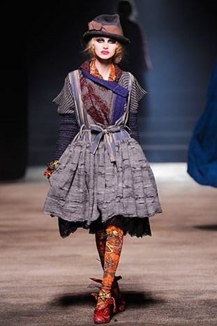 Paris Fashion Week: Vivienne Westwood fall 2010.