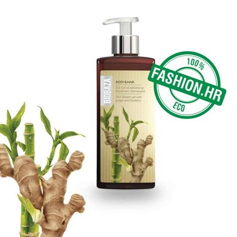 Prirodni Šampon I Gel Za Tuširanje Od Đumbira - Fashion.Hr Style Community