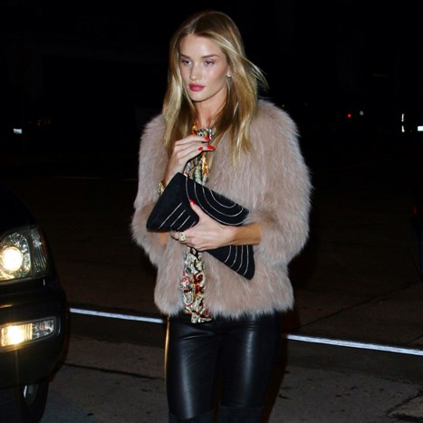 Rosie Huntington-Whiteley tulumari sa stilom