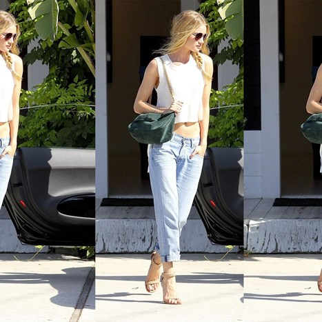 Sunčani look Rosie Huntington Whiteley