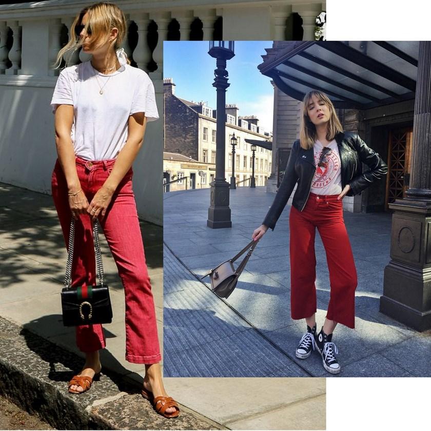 Izvucite Iz Ormara Omiljenu Majicu I Nosite Ju Uz Crvene Traperice! -  Fashion.Hr Style Community