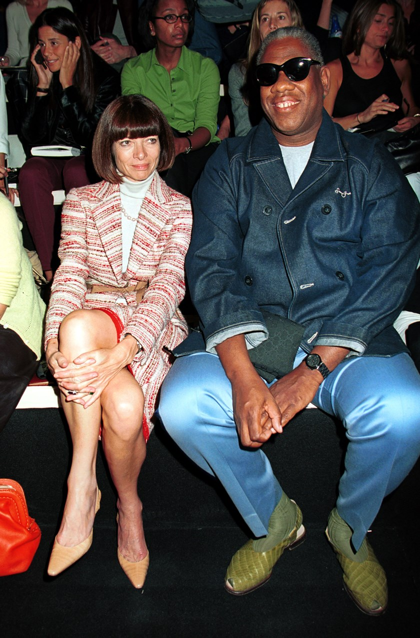 Anna Wintour i Andre Leon Talley 2001