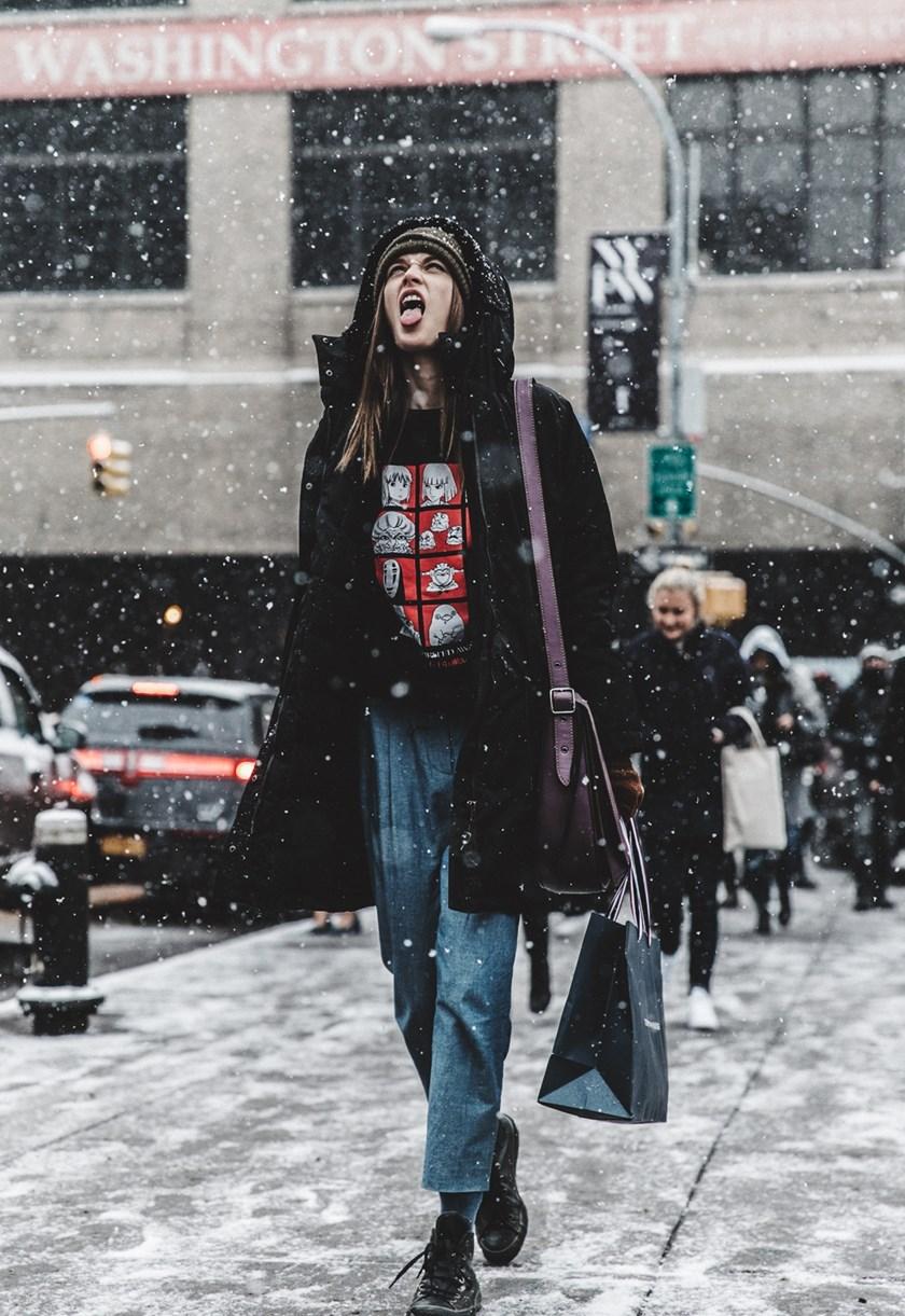 Famozne Kombinacije S Ulica New Yorka