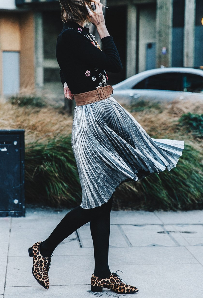 Image result for plisirane metalik suknje