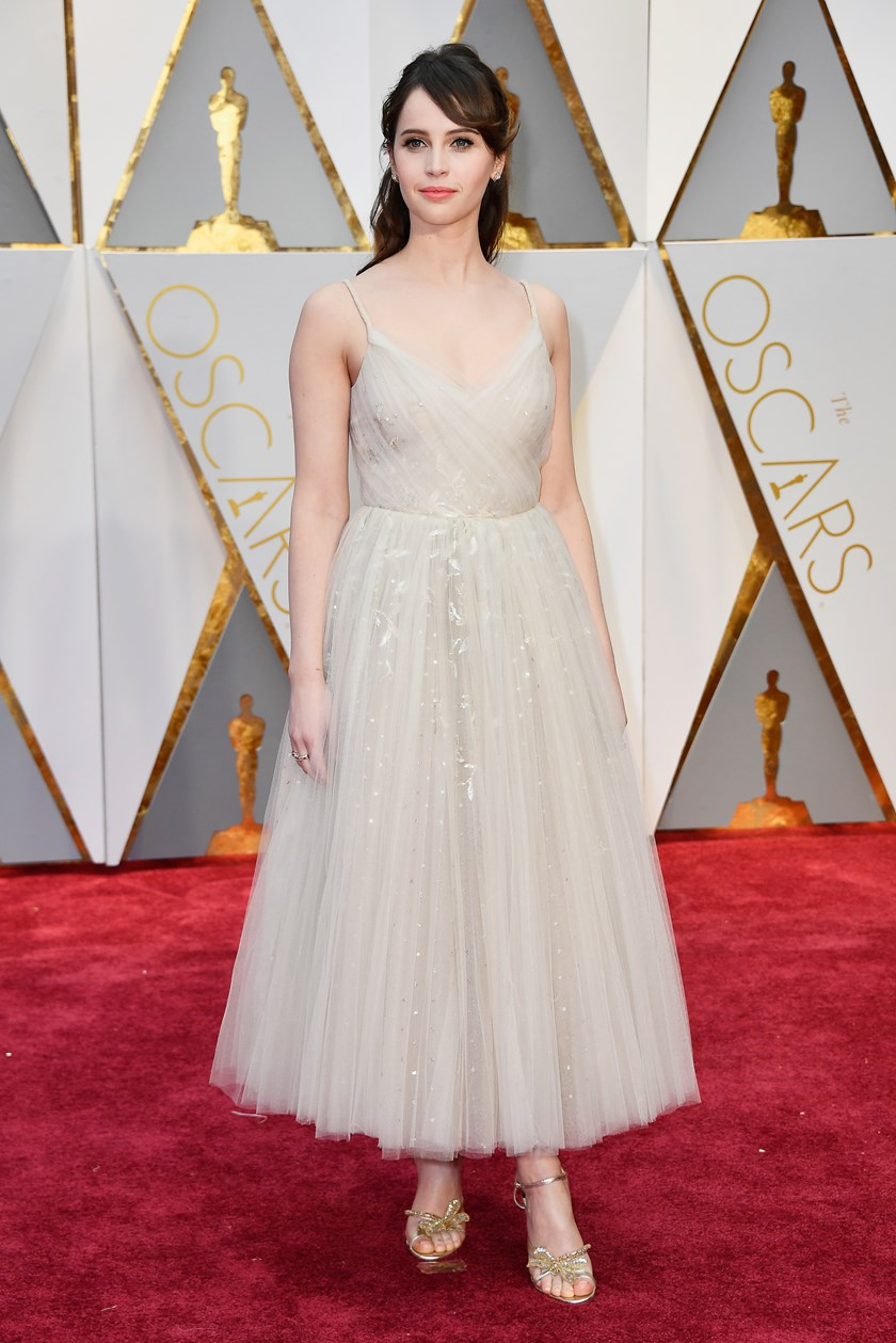 Felicity Jones (Dior Couture)