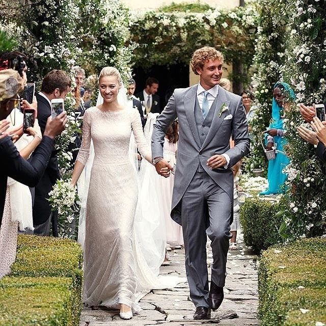 Pierre Casiraghi i Beatrice Borromeo