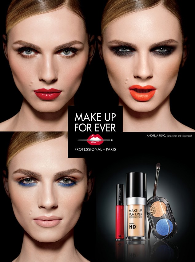 Andreja Pejić za Make up forever