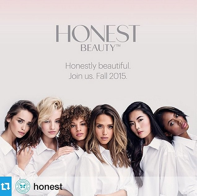 Jessica Alba za Honest Beauty