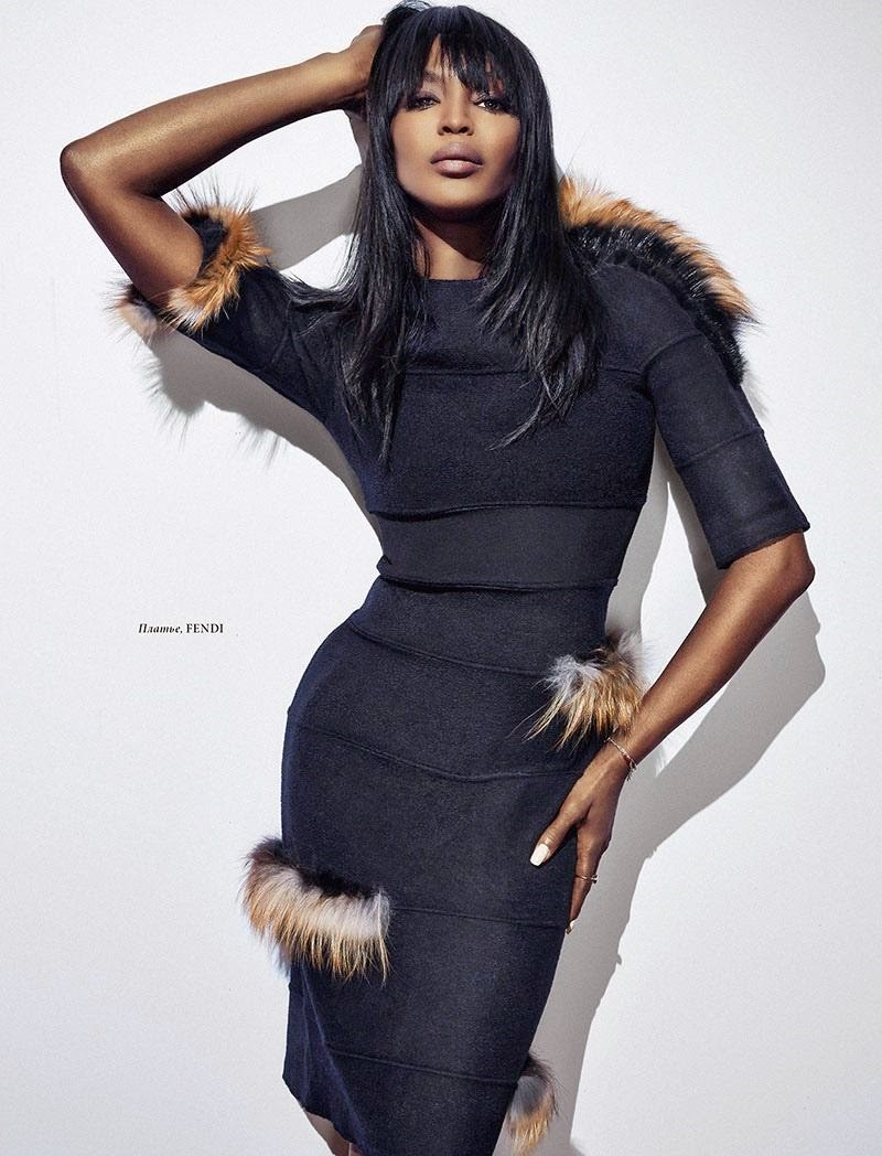 Naomi Campbell L'Officiel
