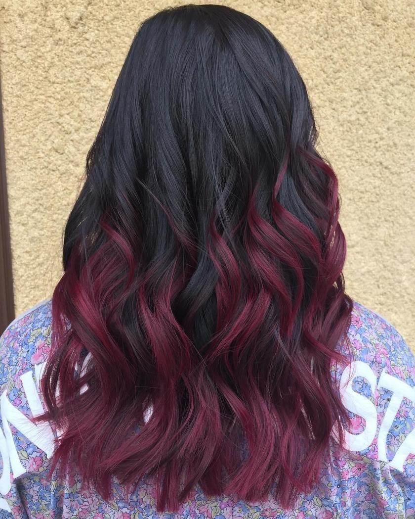 burgundy kosa