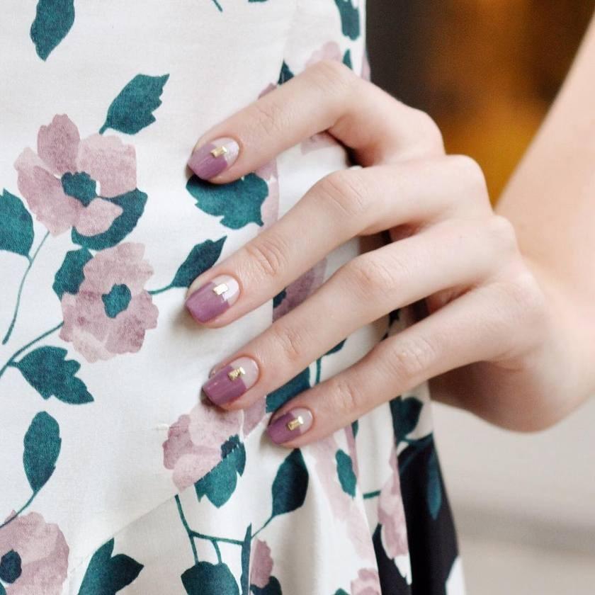 manikure za kratke nokte