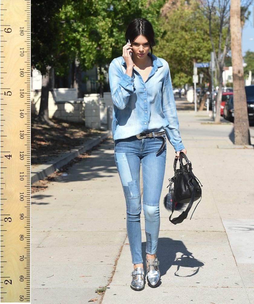 78 Best Kendall Jenner Images On Pinterest: Koliko Su Zvijezde Visoke (Bez Potpetica)?
